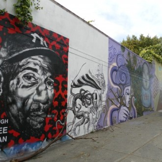 San Francisco Street Art: Haight St and Laguna St