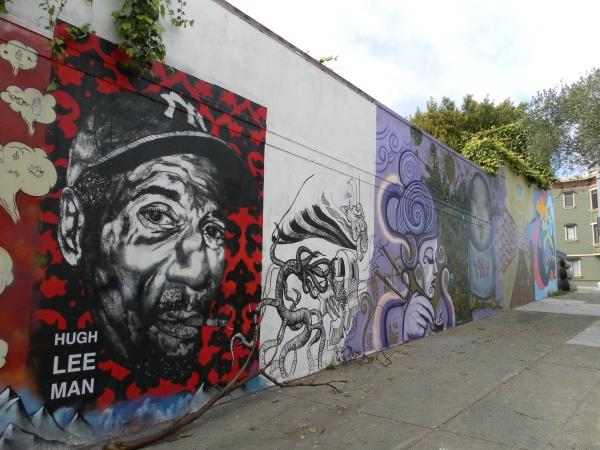 San Francisco Street Art: Haight St and Laguna St