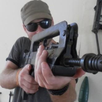 Cambodian Shooting Range
