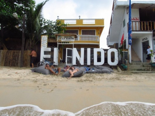 El Nido - Hostel on the Beach