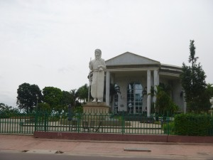 Statue of Pierre Savorgnan de Brazza