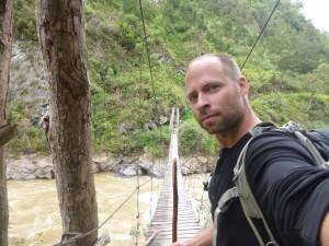Wooden Bridge on Baliem Valley Trek