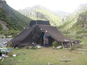 Tibetan Nomad Camp