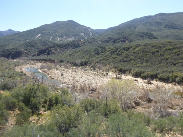 Los Padres National Forest How To Get To The Sespe River