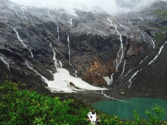 Ice Lake, Yubeng, Yunnan Province, China
