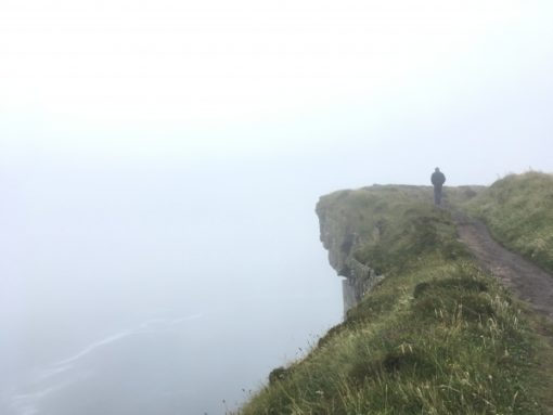 Cliffs Of Moher On Foggy Day