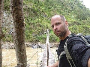 Wooden Bridge on Baliem Valley Trek