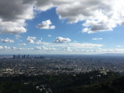 View From Mount Hollywood - Griffith Park
