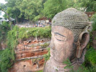 Leshan Buddha Head